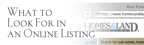 Online Listing: What to Look for in an Online Listing...